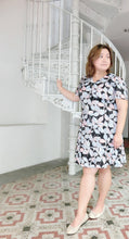 Load image into Gallery viewer, Drop Waist Floral Dress