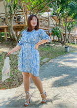 Load image into Gallery viewer, Fleur Chiffon Dress in Pale Blue