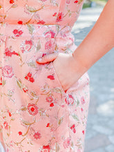 Load image into Gallery viewer, Peachy Keen Chiffon Romper
