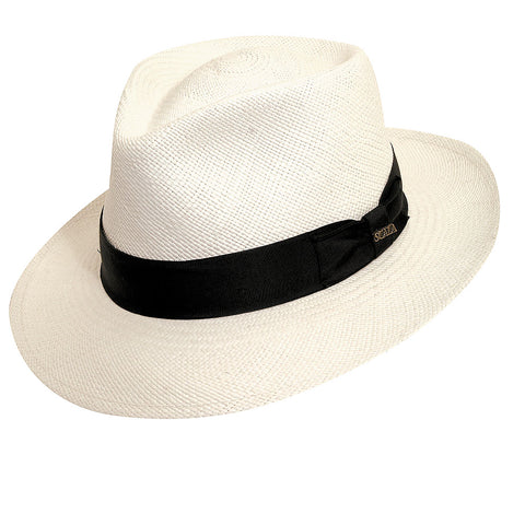 The Tahoe by Scala Hats is a classic Kentucky Derby hat.