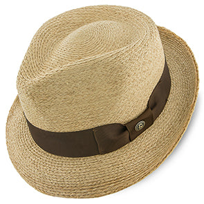 42nd Street Straw Fedora Hat by Stetson Hats