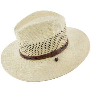 Airway Panama Straw Safari Hat by Stetson Hats