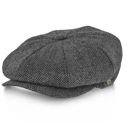 The Shelby hat is another incredible option to look amazing in a flat cap.