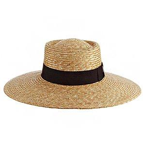 Johanna - Brooklyn Straw Wide Brim Hat