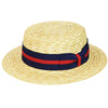 Boater - Country Gentlemen Straw Hat