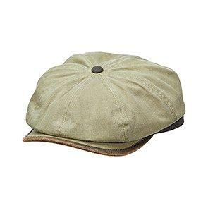Newbie - DPC MC345 Navy Pigment Dyed Twill 8 Panel Newsboy Cap