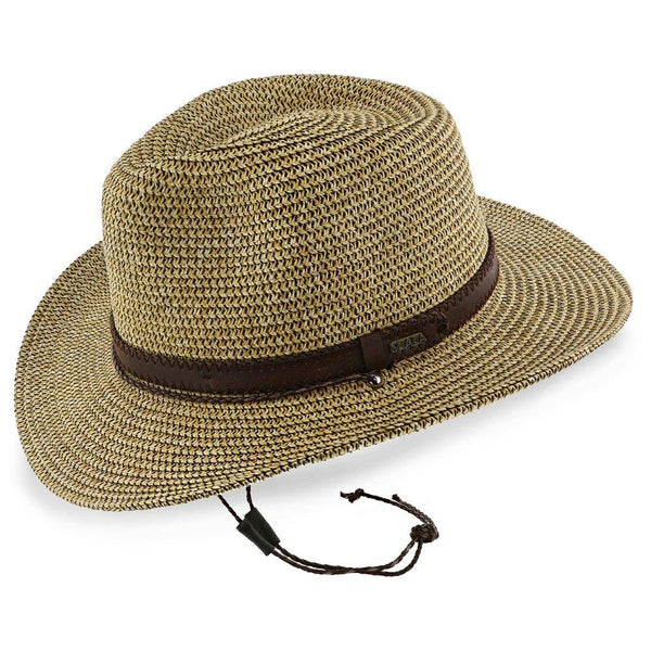 Hightide - Scala Tea Toyo Straw Blend Outback Hat