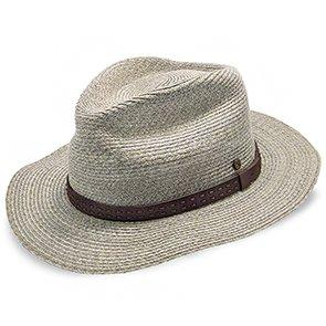 Walrus Hats Hemp Straw Fedora Hat w/ Band