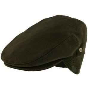 Madison - Walrus Hats Olive Milton Wool Blend Ivy Cap - Driving Cap