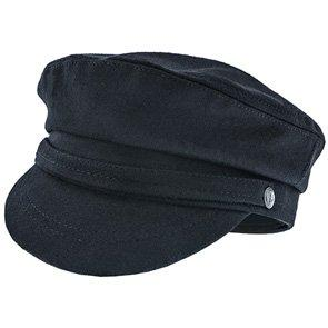 Aegean Greek Fisherman Palaemon - Aegean AEG105 Black Wool Blend Fiddler Hat