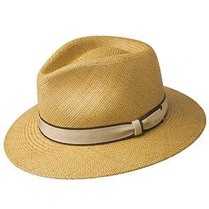 Bailey Fedora Brooks - Bailey 100% Toquilla Palm Hat