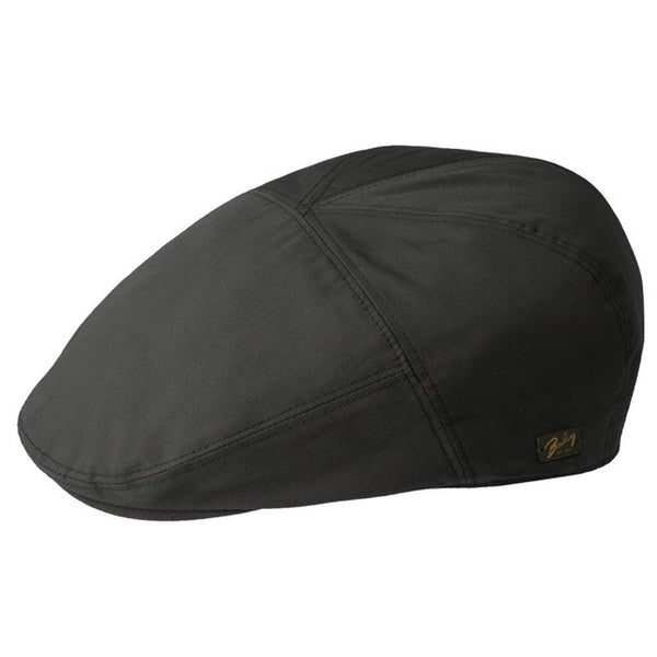 Bailey Flat Cap Graham - Bailey Polyester Blend Flat Cap