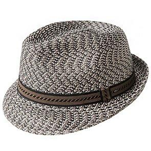 Bailey Fedora Mannes - Bailey Poly Braid Toyo Straw Trilby Hat
