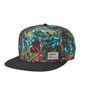 Brooklyn Baseball Miami Vice - Brooklyn Black 6 Panel Flat Brim Snapback Baseball Cap - BKN1533