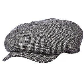 Dorfman Pacific Newsboy DPC MW236 Brown Wool Blend Newsboy Cap