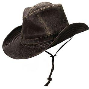 Dorfman Pacific Outback Deacon - MC127 - DPC Shapeable Weathered Cotton Outback Hat