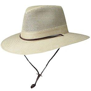 Dorfman Pacific Outback DPC 865 Crushable Brushed Twill Safari Hat