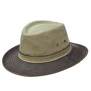 Dorfman Pacific Outback DPC MC344 Navy Pigment Dyed Twill Safari Hat