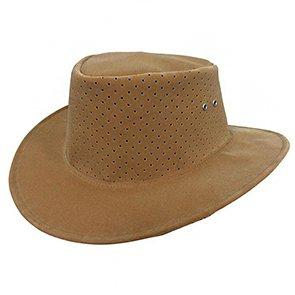 Dorfman Pacific Outback Outdoorsman - Dorfman Pacific Suede Outback Hat