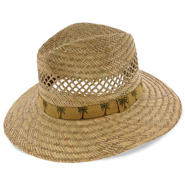 Dorfman Pacific Safari Caladesi - Dorfman Pacific Natural Rush Straw Safari Hat