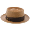 Bishop - Dobbs Straw Porkpie Hat - DSBISH