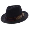 Performer - Santana Wool/Straw Fedora Hat