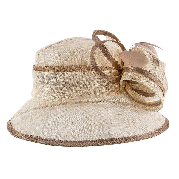 Jeanne Simmons Bucket Bucket Bow - Jeanne Simmons Natural Sinamay Bucket Hat - 6425