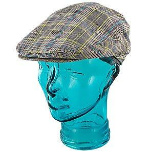 Jeanne Simmons Ivy Spring - Jeanne Simmons Poly Adjustable Neon Plaid Ivy Cap - 6803
