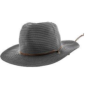 Jeanne Simmons Outback Poolside - Jeanne Simmons Ribbon Wide Brim Fedora Hat - 6981