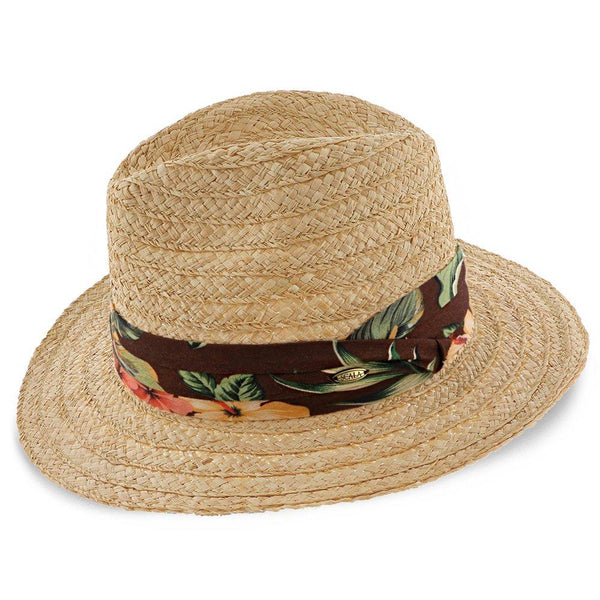 Scala Safari Amazon - H-MR208 - Scala 100% Raffia Straw Safari Hat