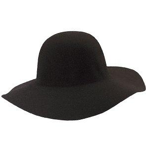 Scala Wide Brim Cocoa - Scala LF41 Chocolate Wool Felt Floppy Wide Brim Hat