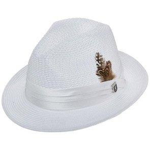 Stacy Adams Fedora Dublin - Stacy Adams Poly Braid Fedora Hat