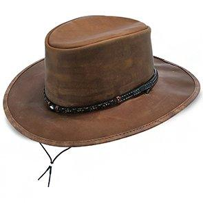 Stetson Outback Crater - Stetson Leather Outback Hat
