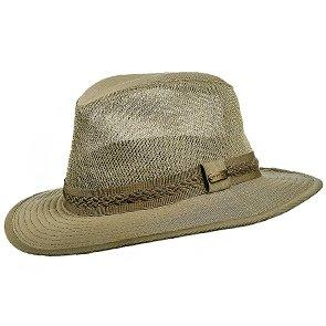 Stetson Outback Tag Along - Stetson Garmet Washed Twill Mesh Safari Hat -STC188