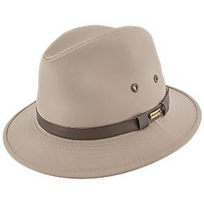 Stetson Safari Gable - Stetson Khaki Cotton Blend Water Repellent Safari Hat - STC61