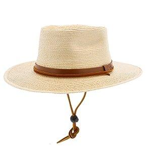 Sunbody Outback Jacob's Hat - Natural Hand Woven Guatemalan Palm Hat