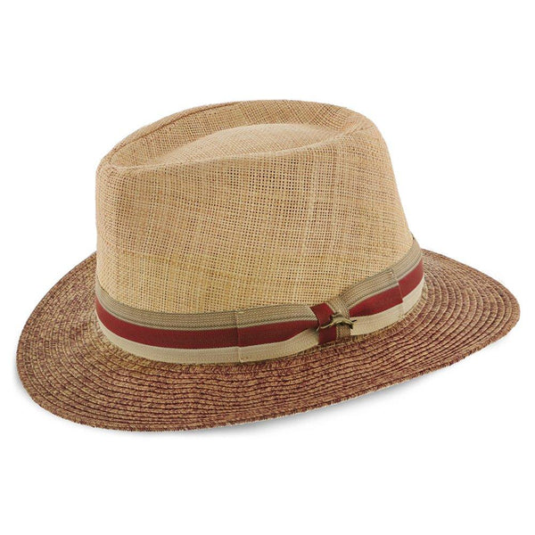 Tommy Bahama Outback The Islander - Tommy Bahama Natural Toyo Straw Blend Safari Hat