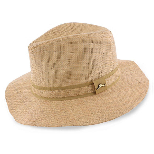 Tommy Bahama Safari Almond - Tommy Bahama 100% Raffia Straw Safari Hat