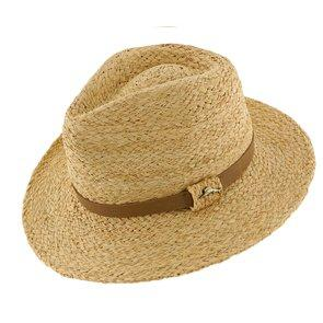 Tommy Bahama Safari Barren - Tommy Bahama TBW225OS Natural Braided Raffia Straw Safari Hat