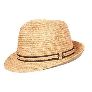 Tommy Bahama Trilby Tommy Bahama TBW194OS Natural Burnt Raffia Trilby