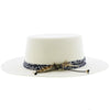 Walrus Hats Bolero West Coast - Walrus Hats White Wool Felt Bolero Hat