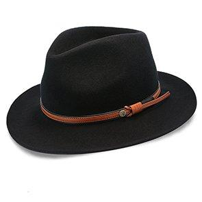 Walrus Hats Fedora The Westland - Walrus Hats Wool Fedora Hat