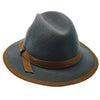 Walrus Hats Fedora Pinnacle - Walrus Hats Sage Wool Felt Fedora Hat - H7022