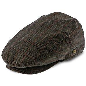 Walrus Hats Ivy The Fairway - Walrus Hats Brown/Red Plaid Polyester Ivy Cap