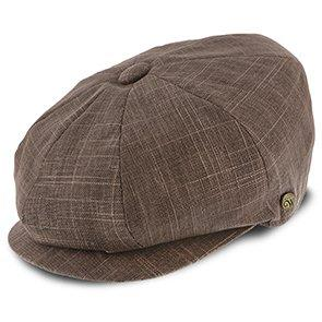 Walrus Hats Newsboy Regal - Walrus Hats Linen/Cotton 8 Panel Newsboy Cap