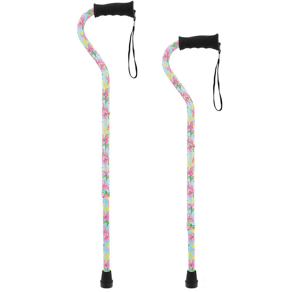 Fashionable Canes Pink Vivienne May Offset Cane