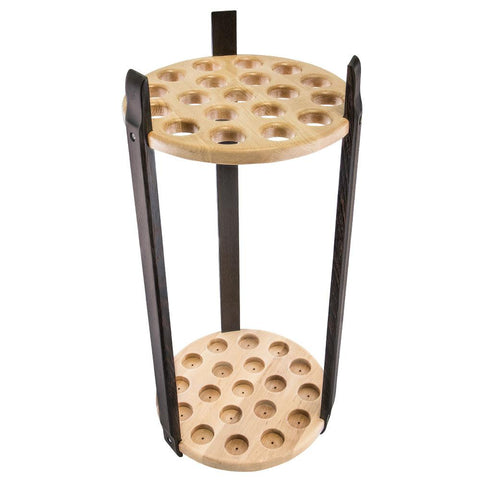 Royal Canes Exotic Wenge & Maple Round Cane Stand