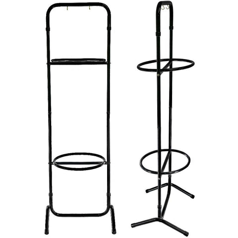 Royal Canes Aluminum Cane Stand w/ 2 x Key Holders