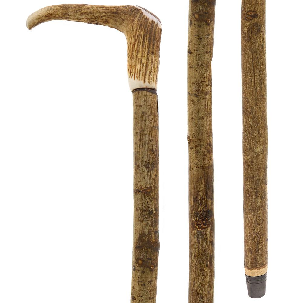Fashionable Canes Staghorn with Chestnut Shaft