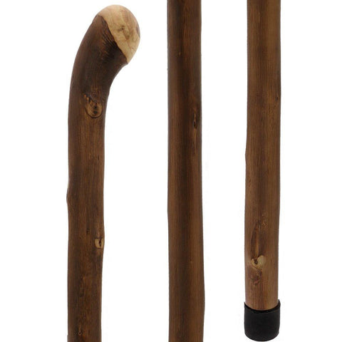 Fashionable Canes Natural Chestnut knob stick